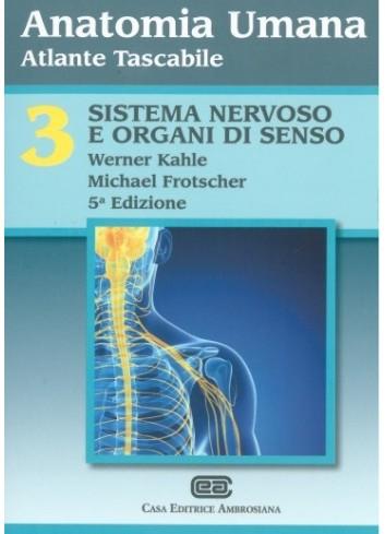 Anatomia umana atlante tascabile - Volume 3 - Kahle Werner, Michael Frotscher
