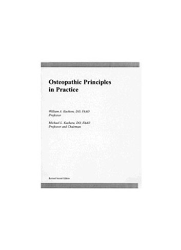 Osteopathic Principles in Practice