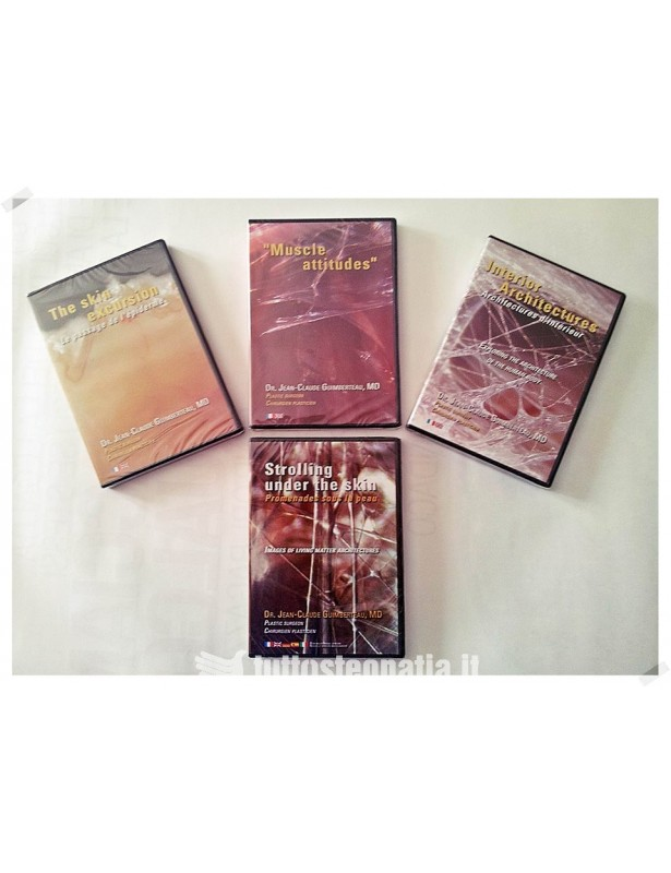 I 4 dvd di Jean Claude Guimberteau -...