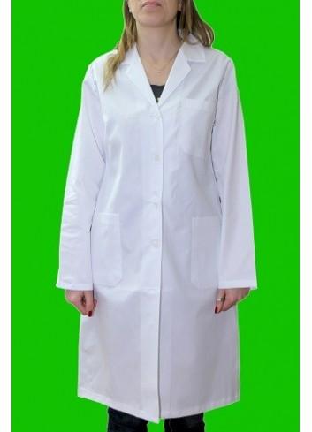 Camice in gabardina di cotone 100% bianco da Donna