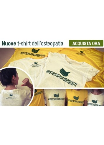 Maglietta dell'Osteopatia 2016 Edition