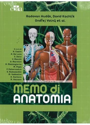 Memo di Anatomia - Radovan Hudak, David Kachlik, Ondrey Volny
