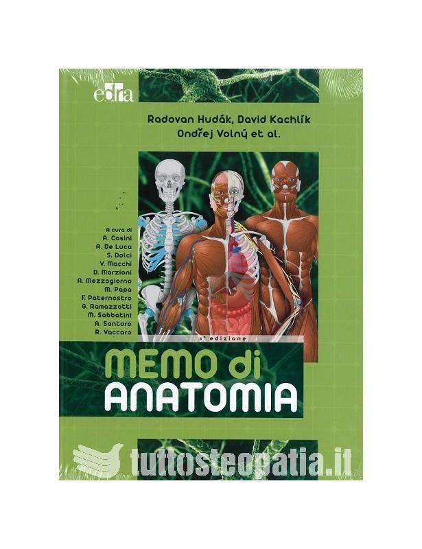 Memo di Anatomia - Radovan Hudak,...