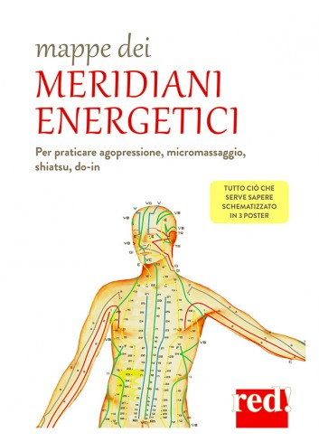 Mappe dei Meridiani Energetici - poster
