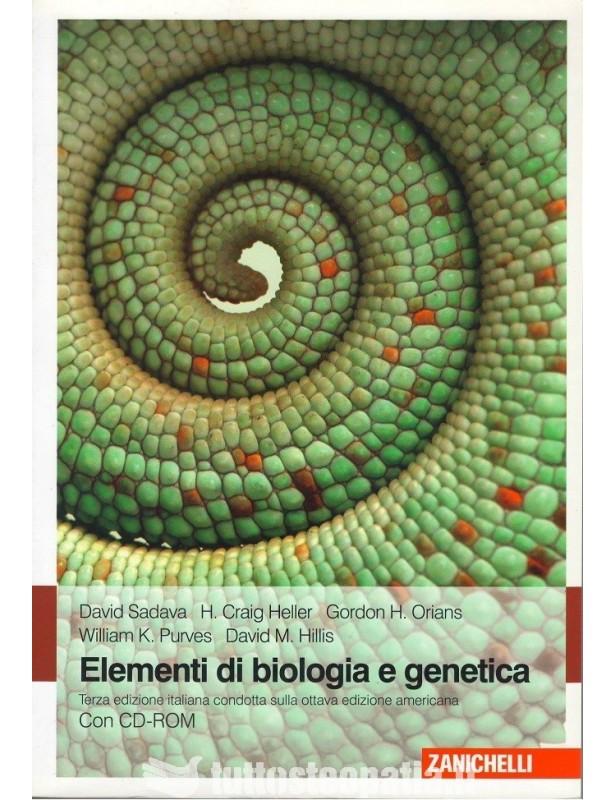 Elementi di biologia e genetica + CD...