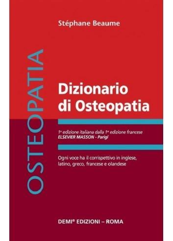 Dizionario di Osteopatia -...