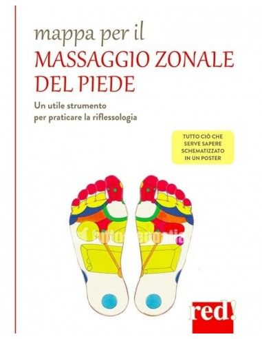 Mappa per il massaggio zonale del...